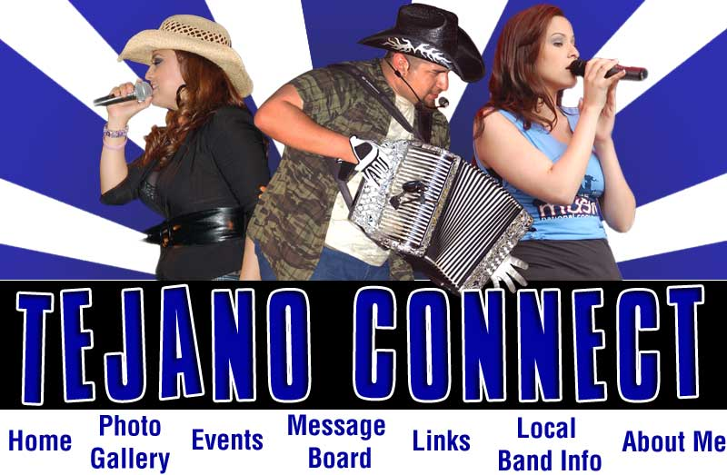 Tejano Connect Top Navigation